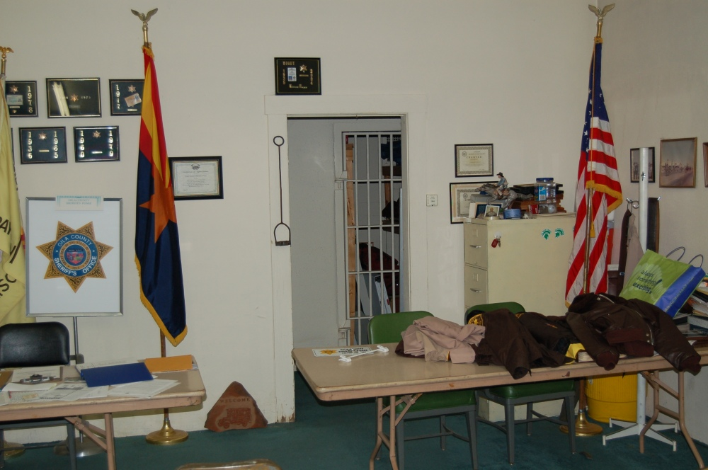 old payson jail where EVP was captured